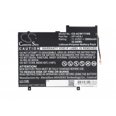 Baterija za Acer Aspire Switch 11 SW5-171, 2900 mAh