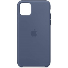 Silikonski omot za Apple iPhone 11 Pro Max, alaskan blue, originalni